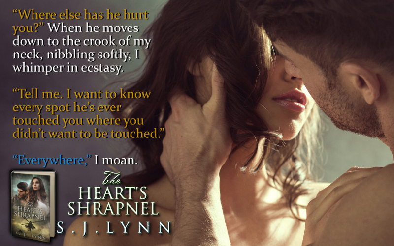 Release Day: The Heart's Shrapnel by S. J. Lynn